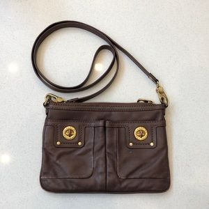 Marc Jacobs leather cross body satchel